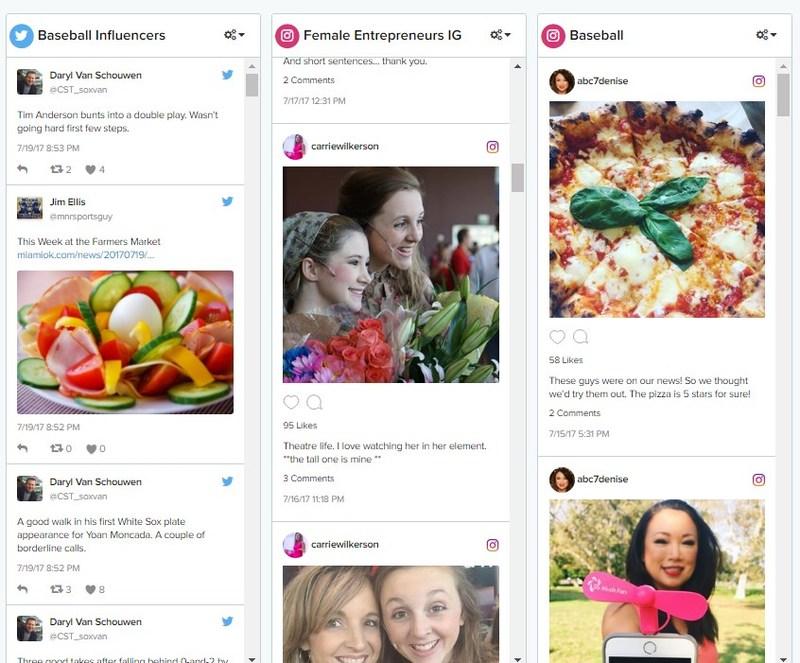 Cision Comms Cloud comprend maintenant du contenu de Facebook, Instagram et YouTube ,et ce, sur la même plateforme que celle des médias imprimés, en ligne et diffusés en plus du contenu de Twitter déjà inclus, permettant aux utilisateurs de surveiller tout le tableau sur l'ensemble des canaux importants. (PRNewsfoto/Cision)