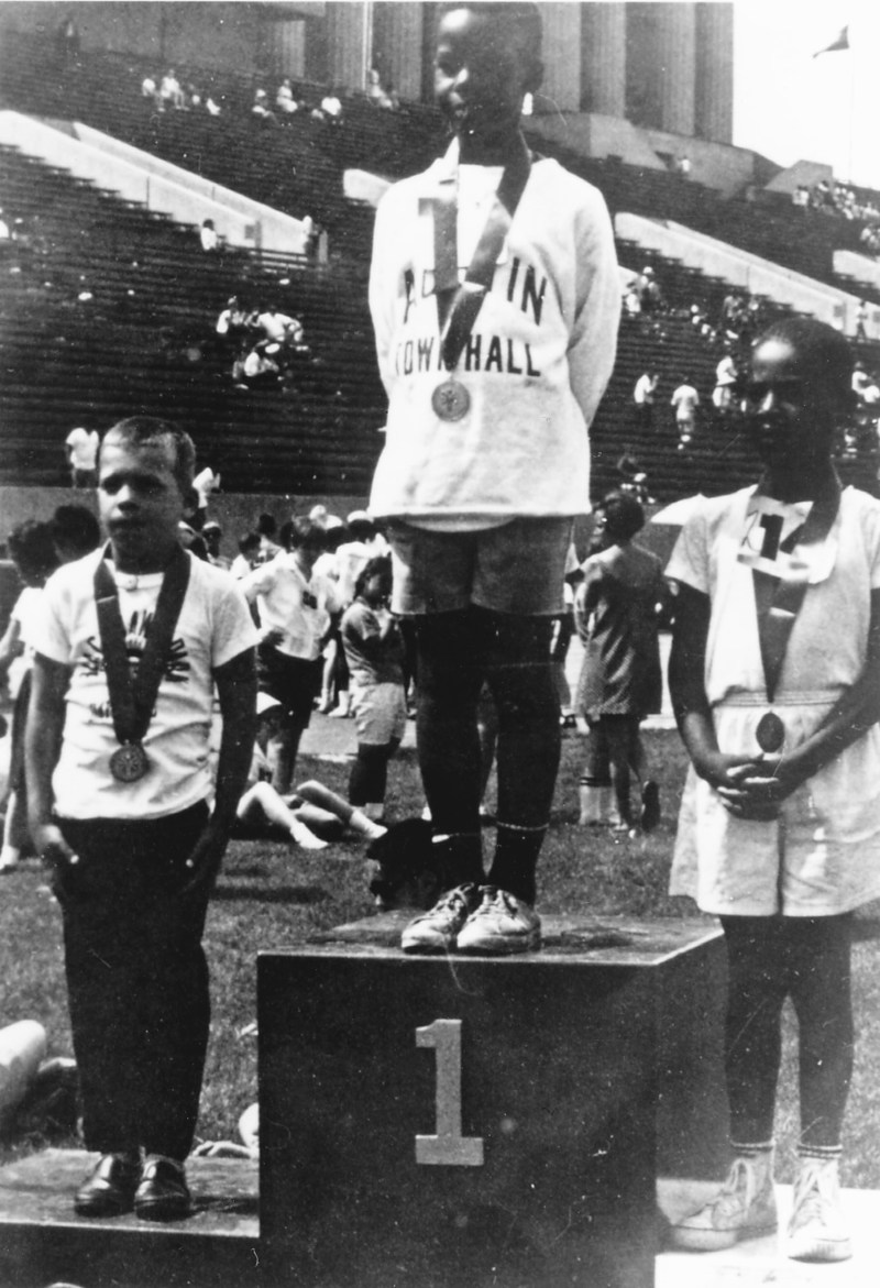 Young athletes came from across the USA and Canada to compete in the first International Special Olympics Summer Games, held July 20, 1968, at Soldier Field in Chicago. Nearly 50 years later, today's Special Olympics movement reaches more than 5 million athletes with intellectual disabilities in 170 countries around the world.  (Photo credit: Special Olympics)
