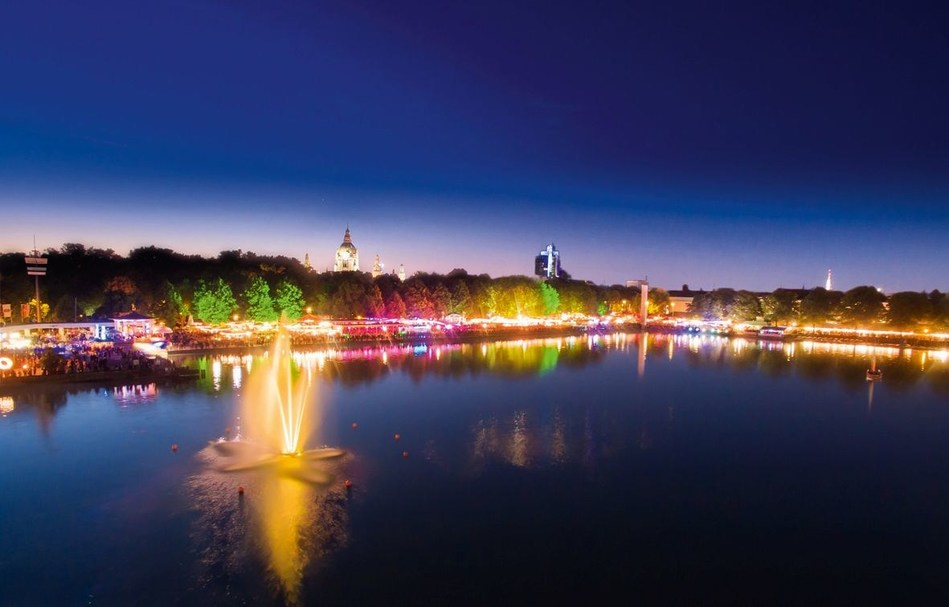 Welcome to Hannover. Welcome to Maschsee Lake Festival. (PRNewsfoto/Hannover Marketing & Tourism)