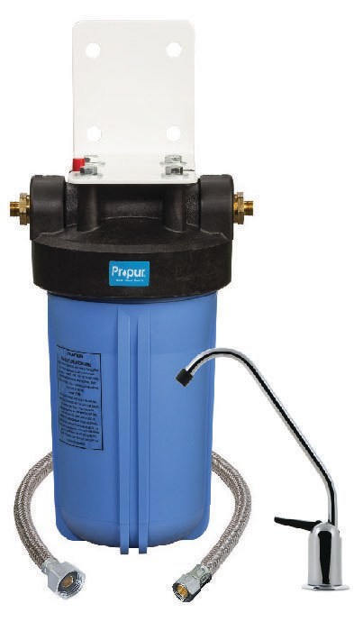 Propur FS10 Inline Connect Water Filtration System with ProMax Full Spectrum Filter Technology and Optional Facet