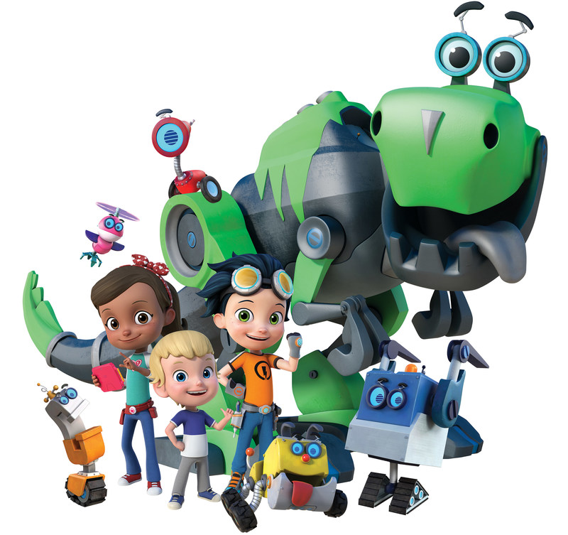 The Rusty Rivets Cast (CNW Group/Spin Master)