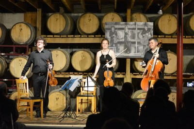 The Jacques Thibaud String Trio will perform on September 2 at the Ozark Actors Theatre in Rolla, MO.