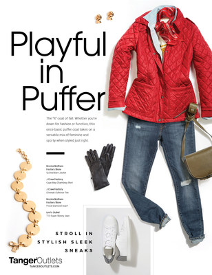 TangerSTYLE Trend Playful In Puffer
