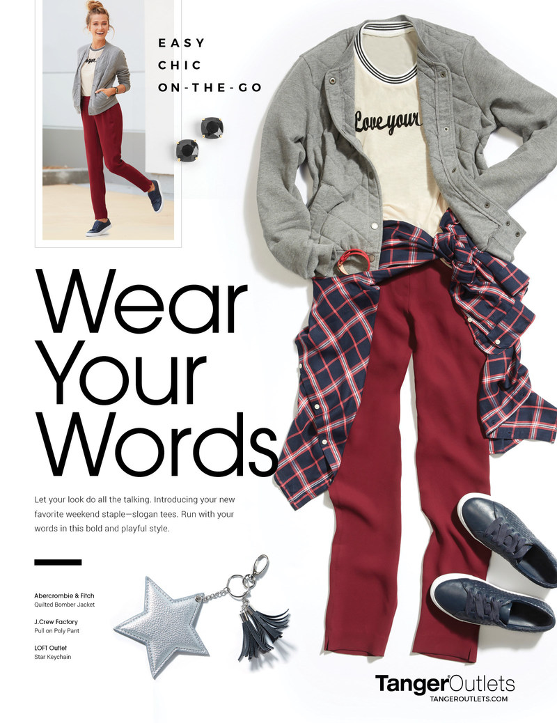 TangerSTYLE 2017 Wear your Words