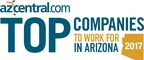 Endurance International Group Named a 2017 azcentral.com Top Company to Work for in Arizona