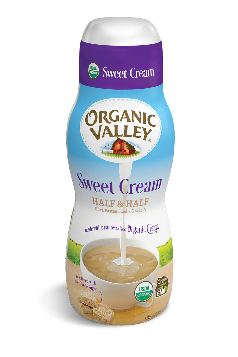 Organic Valley Debuts the First Organic Sweet Cream Half & Half