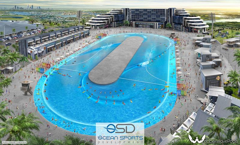 Ocean Sports Development's Webber Wave Pool Concept