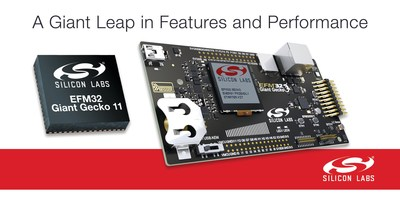 Silicon Labs' new EFM32 Giant Gecko microcontrollers offer the most advanced feature set and largest memory footprint in the low-power MCU market.