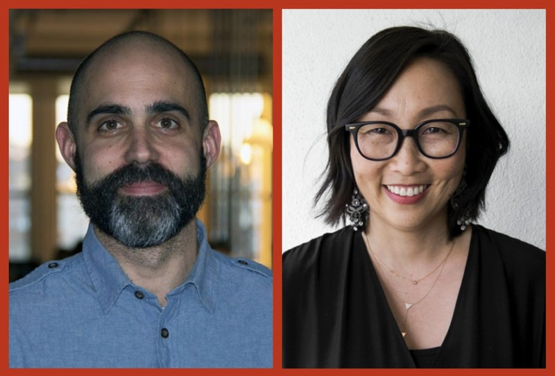 Eric Segal (Partner and Chief Creative Officer, Anomaly NY) and Jiah Choi (Partner and CEO, Anomaly LA).