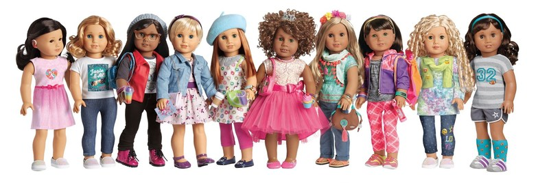 American Girl introduces new Create Your Own online experience allowing girls to customize and design their very own Truly Me doll.