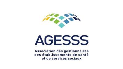 Logo : Association des gestionnaires des établissements de santé et de services sociaux (AGESSS) (Groupe CNW/Association des gestionnaires des établissements de santé et de services sociaux (AGESSS))