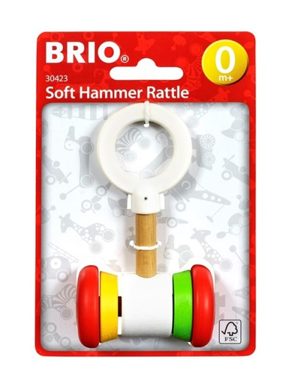 BRIO recalls Soft Hammer Rattle (article number30423) (PRNewsfoto/BRIO)