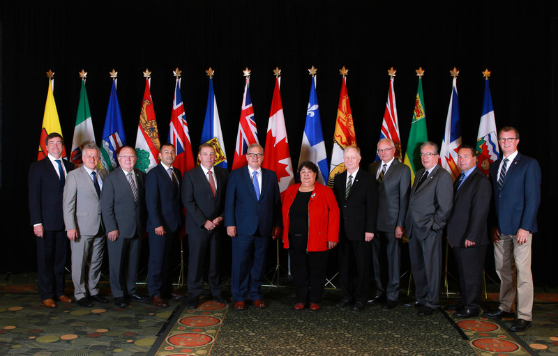 Ministers of Agriculture reached agreement today on the key elements of a new federal, provincial, territorial (FPT) agricultural policy framework during the Annual Meeting of Federal, Provincial and Territorial Ministers of Agriculture held in St. John's, Newfoundland and Labrador, from July 19-21. (CNW Group/Agriculture and Agri-Food Canada)