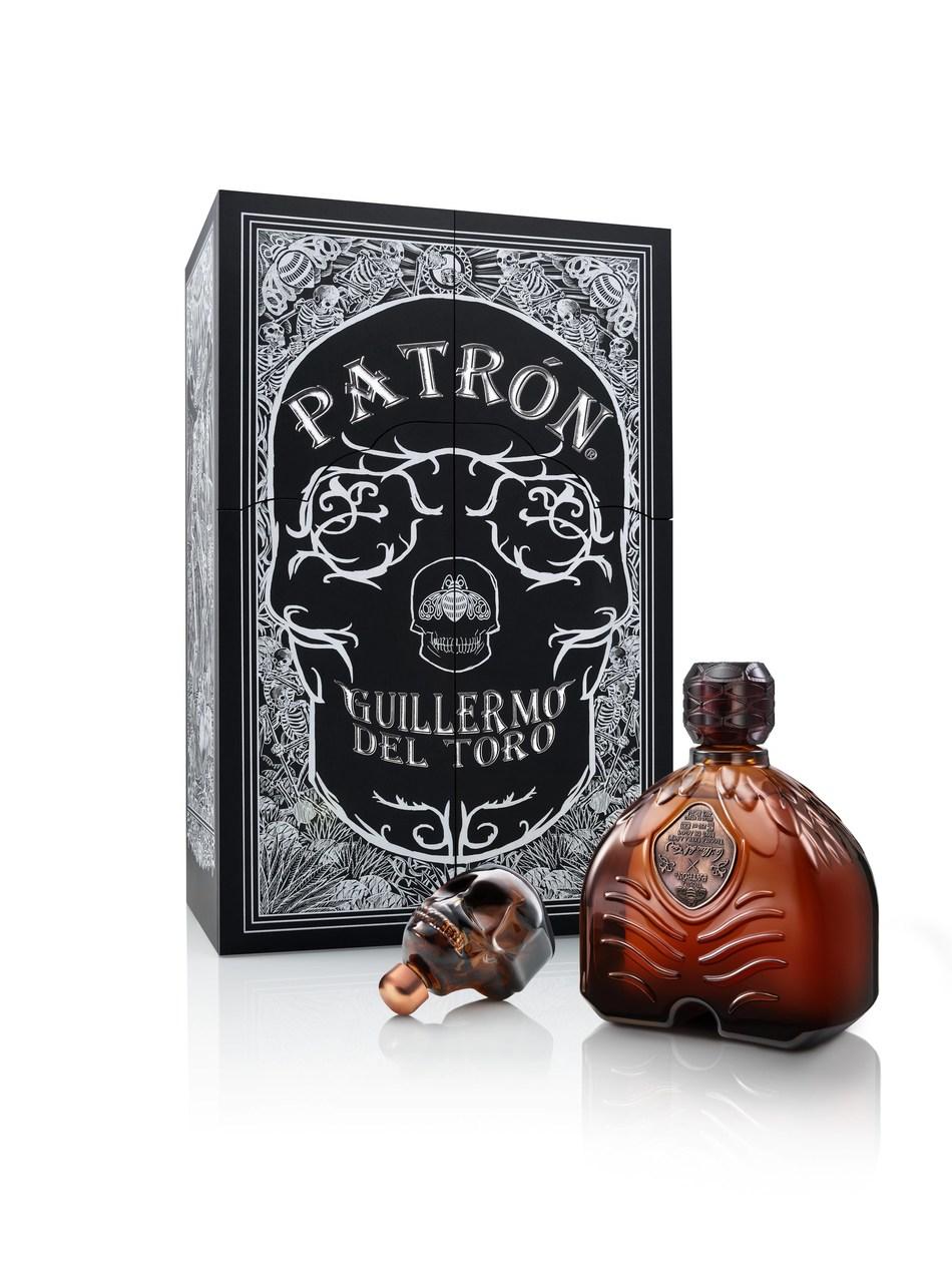 Patrón x Guillermo del Toro collaboration features carefully detailed design