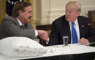 MyPillow Inventor Mike Lindell Lauds President Trump's Made in America Campaign