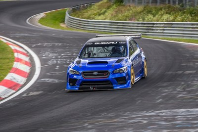 Subaru WRX STI Type RA NBR Special Sets Lap Time of 6:57.5, Fastest Ever for a Sedan at the Famous 12.8-Mile Nürburgring Nordschleife Race Track.