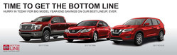 The Bottom Line Model Year End Sales Event is happening now at Glendale Nissan.