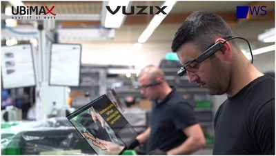 Vuzix Teams up with Ubimax to Deliver a Hands Free M300 Smart Glasses Manufacturing Solution to WS Kunststoff-Service
