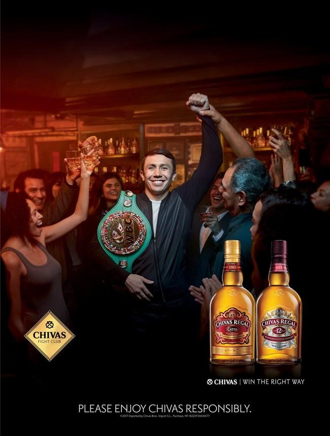 The Chivas Fight Club and GGG / Photo Credit: Chivas Regal