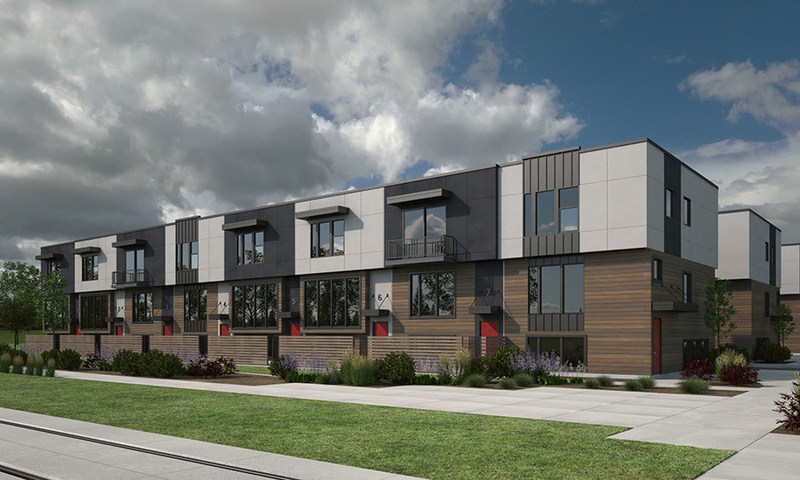 The MODA S-Line townhomes are a contemporary community located at 2250 South 400 East, Salt Lake City, Utah. The project was recently completed by a partnership between JF Capital and Green Mesa Capital. This marks the fourth completed MODA development for JF Capital in the past 24 months.
