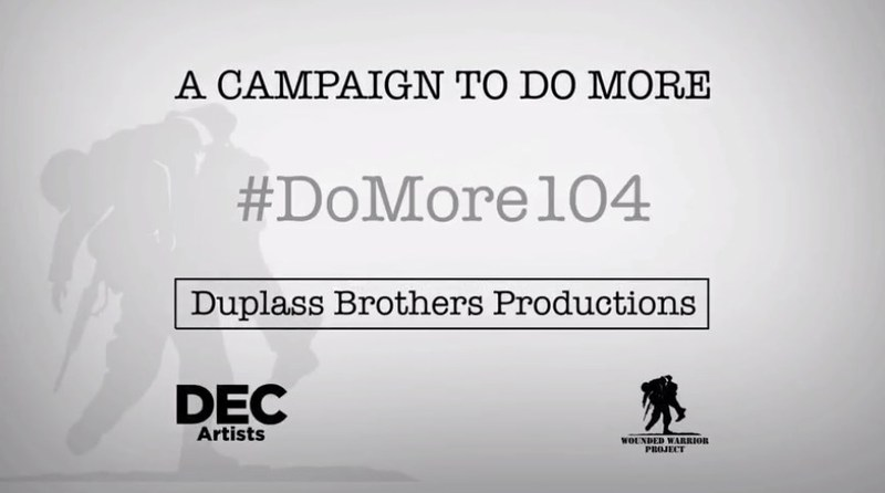 DEC Artists along with Mark and Jay Duplass have teamed up to support Wounded Warrior Project.