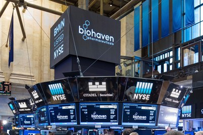 Biohaven traded on the NYSE (Photo Credit: NYSE)