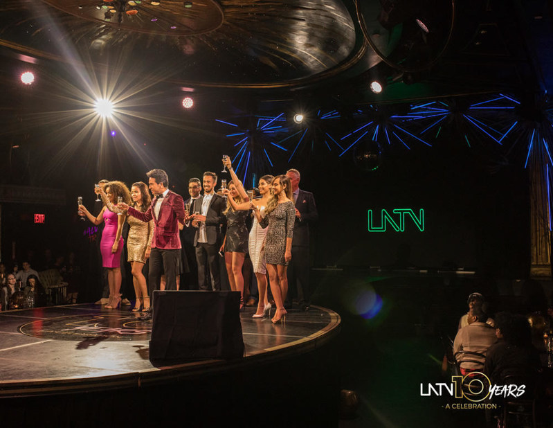 Last May 10 the LATV team celebrated their 10th year anniversary at the Diamond Horseshoe in New York.