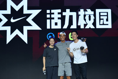 Legendary Chinese athletes Li Na and Liu Xiang, and the world's top soccer player Cristiano Ronaldo, recognized 100 award-winning PE teachers across China during the Active Schools Innovation Award ceremony.