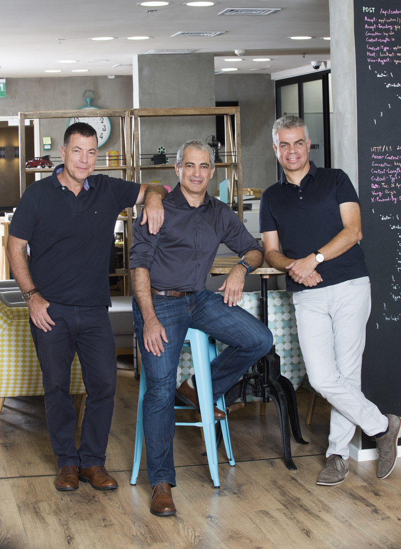 iguazio's Founding Team (left to right): VP of Product Yaron Segev, CTO Yaron Haviv and CEO Asaf Somekh