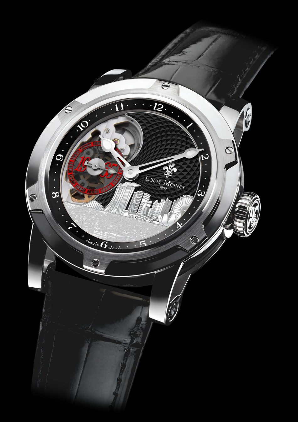 The Louis Moinet Singapore Edition Watch (PRNewsfoto/Wealth Solutions)