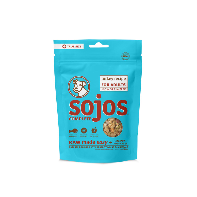 Sojos Complete Trial-Size makes it easier than ever for pet parents to feed raw, farm-fresh ingredients.