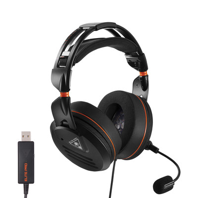 The Elite Pro - PC Edition with USB amp shown is a groundbreaking gaming headset specifically designed for today's generation of professional and hardcore gamers playing on PC.  Now available for a MSRP of $199.95.