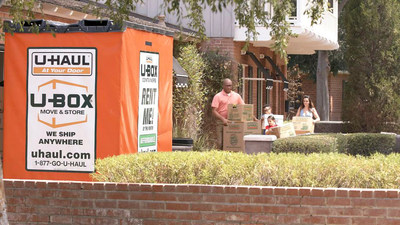 U-Box portable moving and storage containers are the subject of U-Haul Company's first TV advertisement in 34 years. The commercial is now airing in the Phoenix, Las Vegas and Salt Lake City markets.