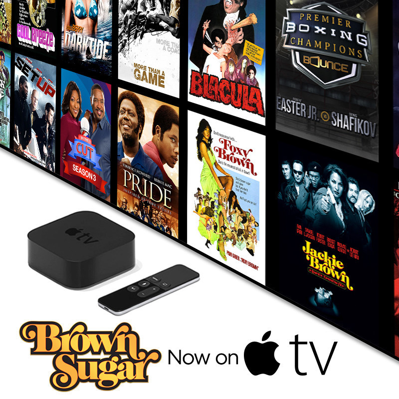 Brown Sugar, the new subscription-video-on-demand service featuring the biggest collection of the baddest African-American movies of all-time, is now available on Apple TV, it was announced today. Brown Sugar features such great movies as Dolemite, Jackie Brown, Cotton Comes to Harlem, Foxy Brown, Cooley High, Blacula, Pride, A Soldier's Story, Black Caesar, Which Way Is Up?, Hammer, Richard Pryor: Live on the Sunset Strip, Car Wash, The Original Gangstas and more. Visit www.BrownSugar.com.