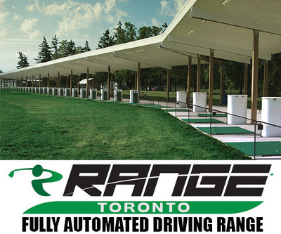 The Next Generation of Driving Ranges. This first-class driving range is the largest fully automated driving range in Canada and can accommodate up to 40 golfers at one time. Open 7 days a week, rain or shine, and is easily accessible from Highways 401, 427 and 407. (CNW Group/iRange Toronto)