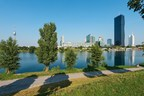 Vienna Danube Island: A leisure park popular with visitors and Viennese alike - currently also the venue of the FIVB Beach Volleyball World Championships. © WienTourismus/Christian Stemper (PRNewsfoto/Vienna Tourist Board)