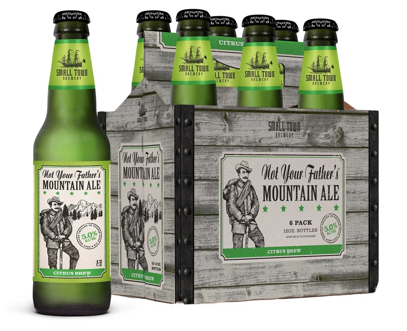 New Not Your Father's Mountain Ale, a bold, refreshing citrus brew from the makers of Not Your Father's Root Beer