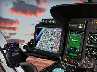 The MB Q Series Displays Offer New Technology for Airborne Law Enforcement.