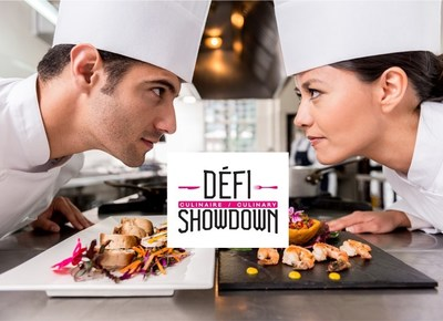 Quebec's first annual Culinary Showdown spotlights celebrity chefs while supporting Hereditary Breast Cancer Research at the Jewish General Hospital in partnership with the Quebec Breast Cancer Foundation (CNW Group/Quebec Breast Cancer Foundation)