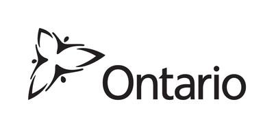 Logo : Gouvernement de l'Ontario (Groupe CNW/Société canadienne d'hypothèques et de logement)