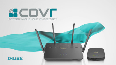 The Covr AC3900 Wi-Fi System (Covr-3902) is a simple, intelligent solution that uses a high-performance router and seamless extender to create a single network with ultra-fast speeds and reliable connectivity.