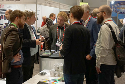 A two-day exhibition will feature suppliers of detectors, sensors, lasers, and imaging equipment for security and defence applications, and sensor systems, data analysis, and satellite platforms for remote sensing.