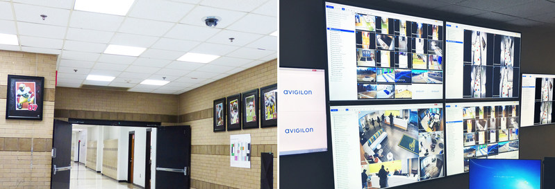 Figure 1. Fulton County Schools install Avigilon security solutions, including Appearance Search technology. (CNW Group/Avigilon Corporation)