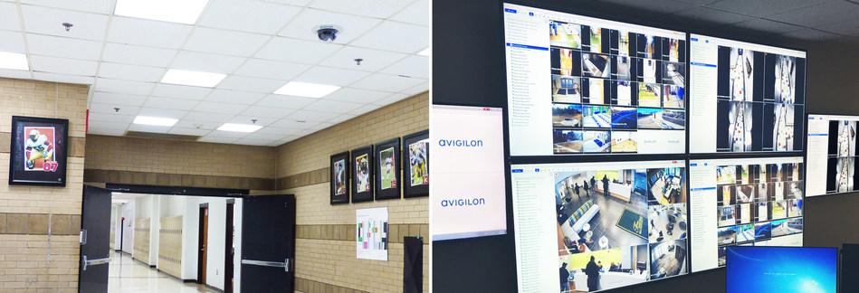 Figure 1. Fulton County Schools install Avigilon security solutions, including Appearance Search technology. (CNW Group/Avigilon Corporation)