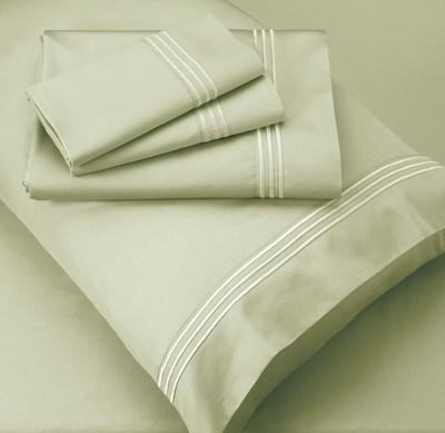 Elementos PureCare: jogo de lençóis Lumen® Premium Celliant®: A primeira coleção de artigos de cama que usa Celliant para aumentar o conforto e promover uma rápida recuperação durante o sono. (PRNewsfoto/Hologenix, LLC)
