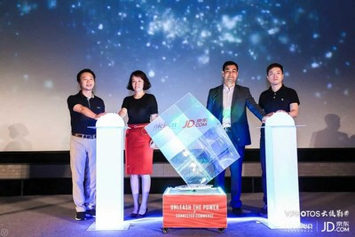 Executives of both JD.com and Nielsen unveiled the MTA solutions at the joint forum