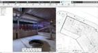 FARO SCENE 7.0 - Visão geral Mapa com dados de varredura a laser - site de construção