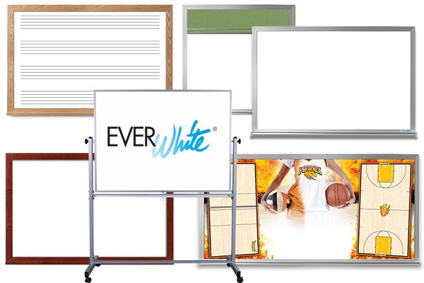 Standard and Custom Printed Whiteboards (PRNewsfoto/EverWhite Whiteboards)