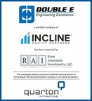 Quarton International Advises Incline Equity Partners In The Sale Of Double E Company To River Associates Investments