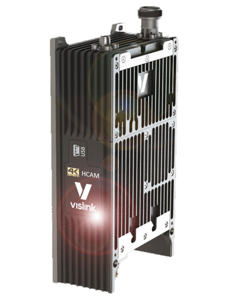Vislink HCAM HEVC 4k Camera Transmitter